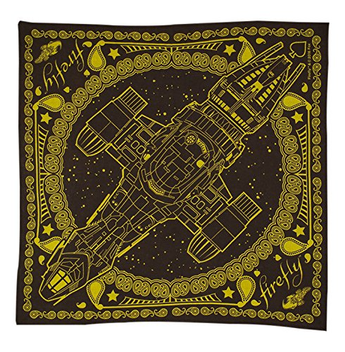 Browncoats Costume (Quantum Mechanix Firefly Serenity Bandana, Brown)