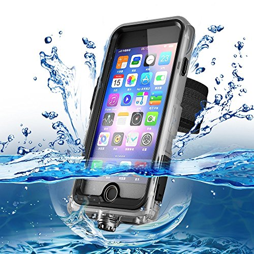 Cornmi Compatible Waterproof Case Replacement for iPhone 8 P
