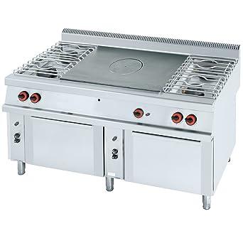macfrin 50230b08 platos de parrilla de Gas cocina, Serie 10 ...