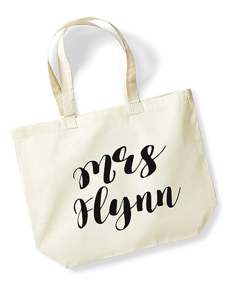 Mrs Flynn - Bolsa de la compra personalizable en color ...