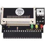 電子部品、SODIAL(R) 3 LEDS コンパクトフラッシュ CF SSD/3.5 インチ ATA IDE アダプター