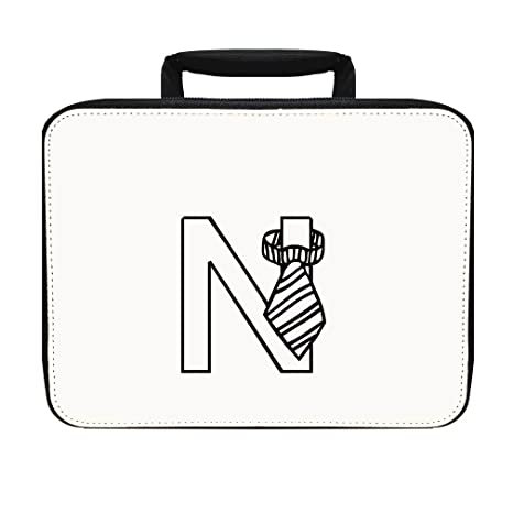 Amazon Com N Children Toys Monogram Letter N Insulated Lunch Box
