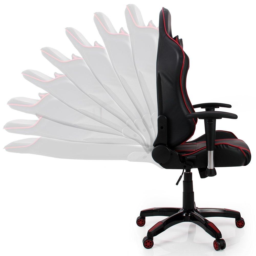 Deuba® Bürostühl Gaming Chefsessel   Modell