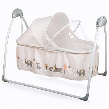 Hervorragend Baninni Gondola Elektrische Babywiege Babyschaukel Babybett Mit  Schaukelfunktion, Musik, Naturgeräusche, Timer, Inkl