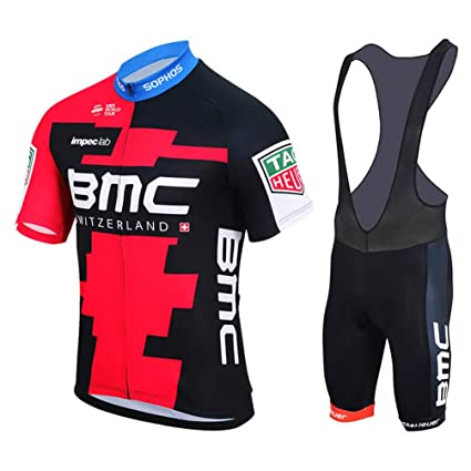 Good Luck US Profession 2018 Black MTB Mountain Bike Clothing Short Sleeve  Cycling Jersey and Bib 49176c09b