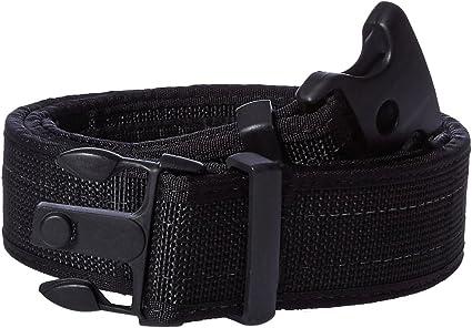 Uncle Mike/'s Law Enforcement Kodra Nylon Web Loop Back Inner Duty Belt Black