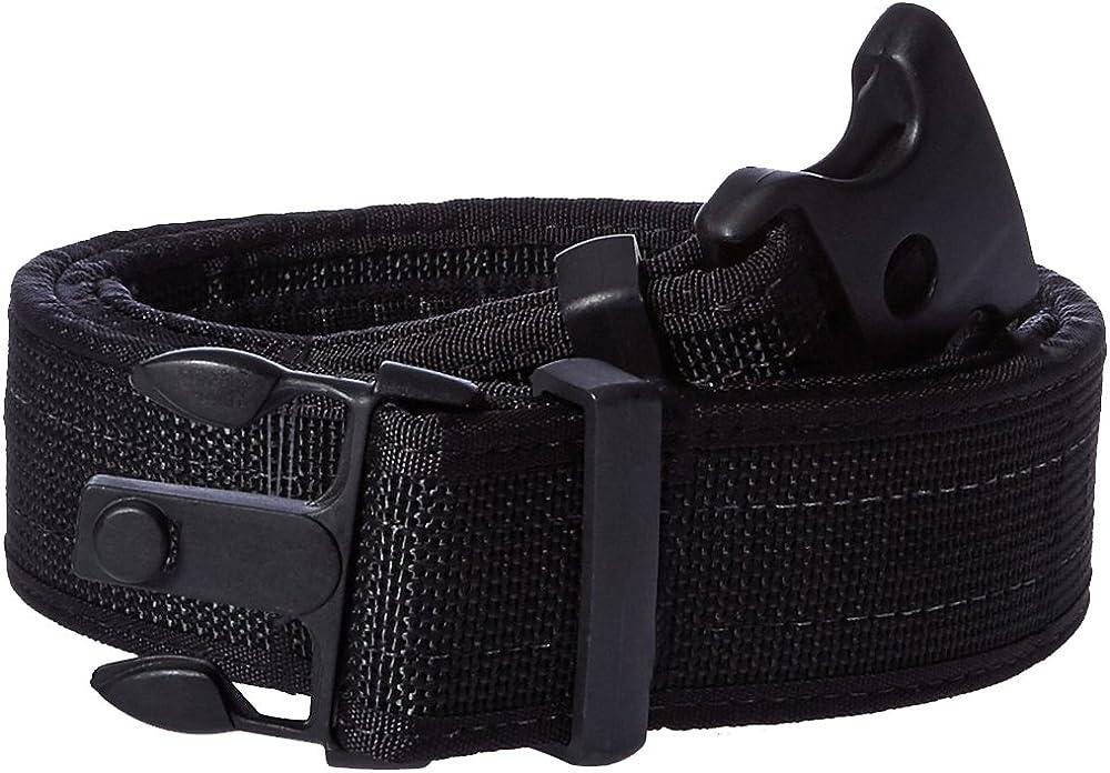 Uncle Mike/'s Law Enforcement Kodra Nylon Web Ultra Inner Duty Belts Black