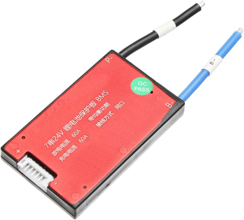 MYAMIA 24V 7S 16//25//35//45//60A BMS PCB Carte De Protection De Batterie Pcm pour V/élo /Électrique Ebike-16A