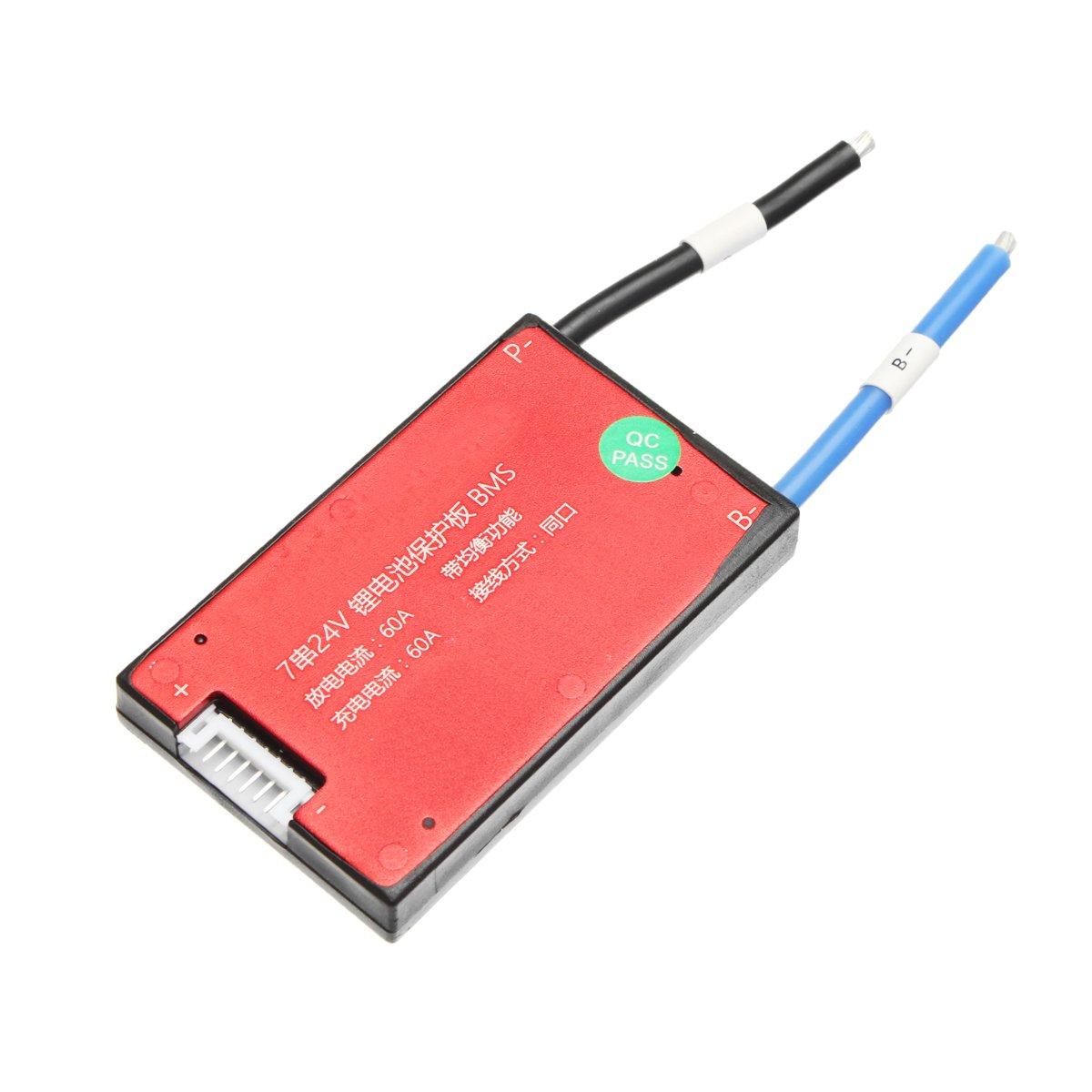 16a ChaRLes 24 V 7 S 16//25//35//45//60 A Bms Pcb Batterie Schutz Bord F/ür Ebike Elektro Fahrrad