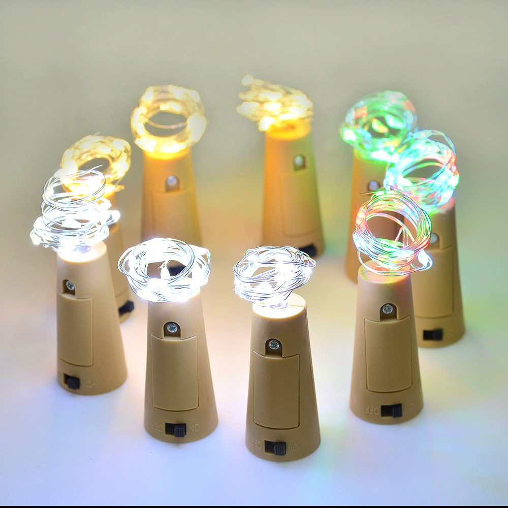 Cork luces de forma, Botella AGPtek 3PCS mini cordón de iluminación de 75 cm / 30 pulgadas de alambre de cobre de luz Luz estrellada Para Botella DIY, ...