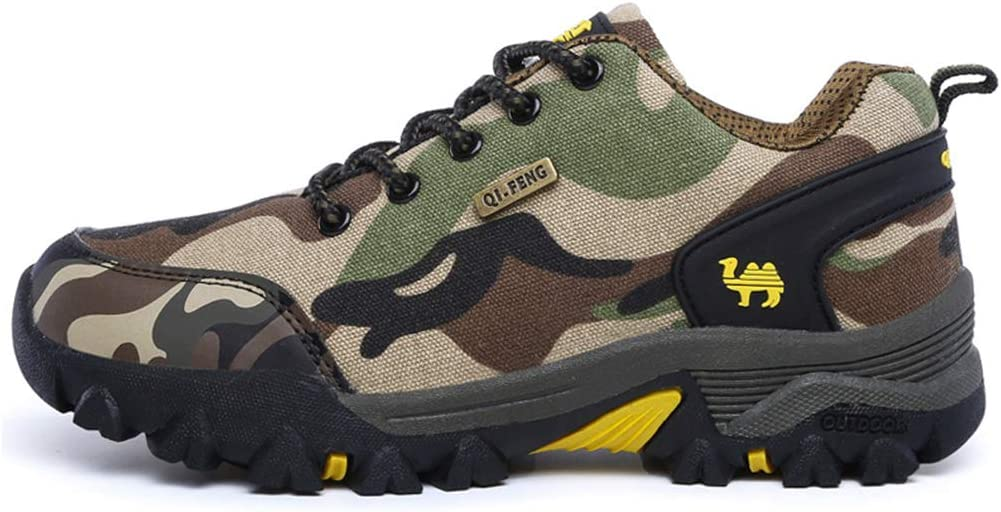 Lovers Hiking Shoes Camouflage Sneakers