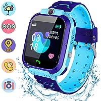 Smartwatch para niños, Gayrrnel Reloj Inteligente para Niños IP67 Smartwatch niños con Pantalla Tácil de 1.44 Pulgadas - Anti-pérdida, Hacer Llamada, Chat de Voz,Cámara, Modo de Clase, Juegos, etc. La mejor opción para regalos de niños