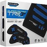 Super Retro Trio Plus HD Royal Blue PAL Version Retro-Bit Europe (Electronic Games)