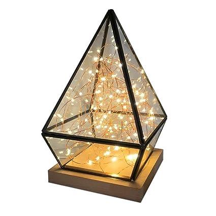 LMDH Creativa Lámpara de Mesa LED con Dimmer Switch Sencillo ...