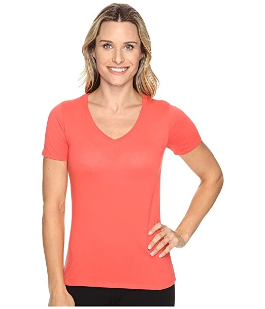 3cf19bb475d5 Nike Women s Dri-Fit Cotton V-Neck Short Sleeve Tee at Amazon ...