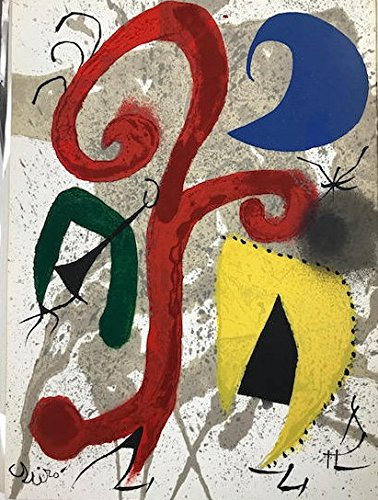 Joan Miro signed original lithograph -