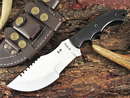 Huge Sale by Leather-n-Dagger | One-of-a-Kind Custom Handmade D2 Steel Tracker Hunting Knife LD503D-3
