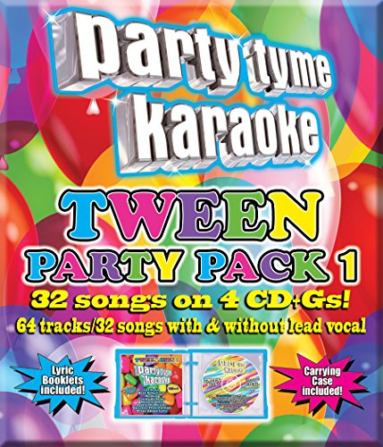 Price comparison product image Party Tyme Karaoke: Tween Party Pack 1