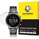 HATALKIN 3-Pack Compatible with Fossil Mens Gen 5 Carlyle Screen Protector,Tempered Glass for Fossil Men's Gen 5 Carlyle Smartwatch [2.5D 9H Hardness] [Bubble Free]