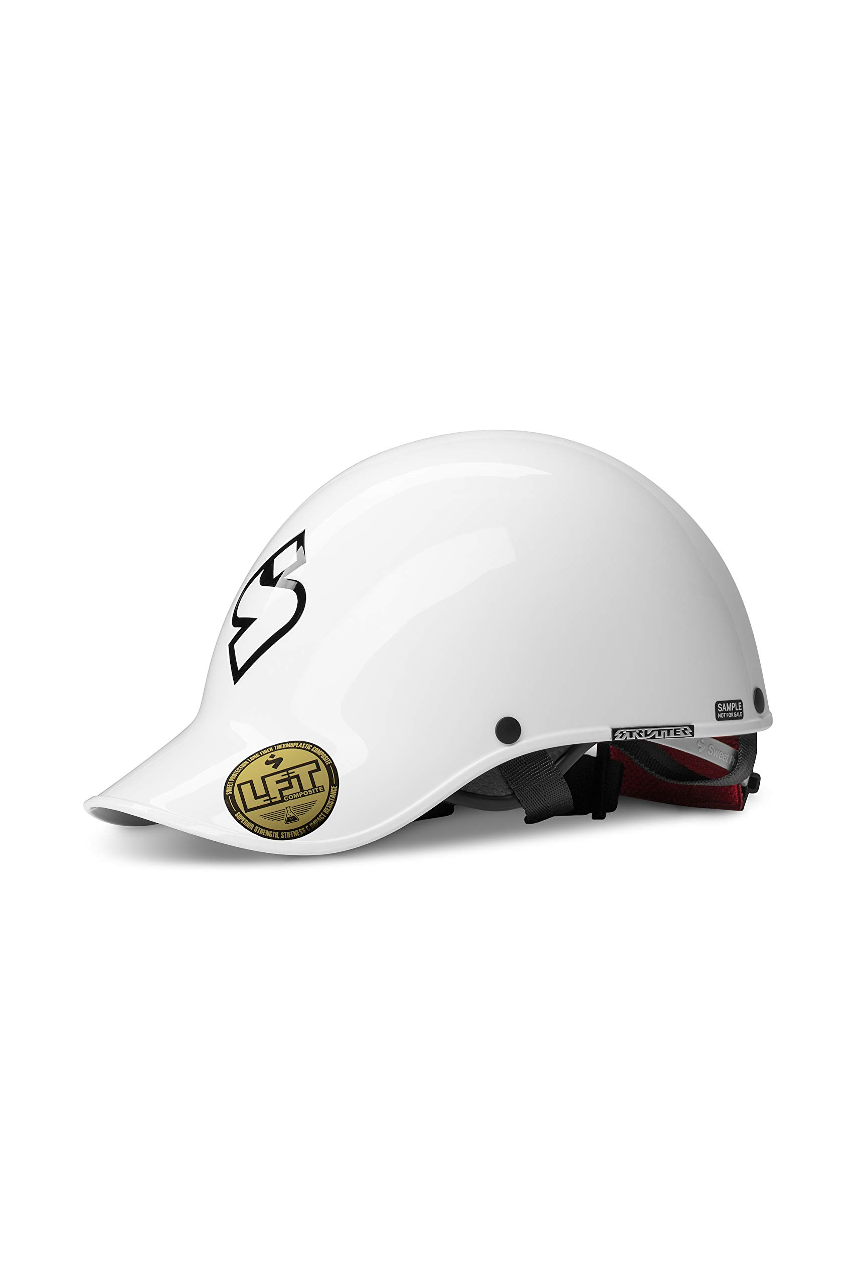 Sweet Protection Strutter Paddle Helmet, Gloss White, ML by Sweet Protection