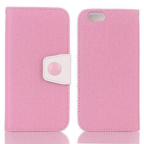 iPhone財布ケース、sammidスリムPUレザーカバーケースfor iPhone iPhone7 Plus SMD-ZS-I7PL-PB079YBDBB4iPhone7 Plus|ピンクピンクiPhone7 Plus