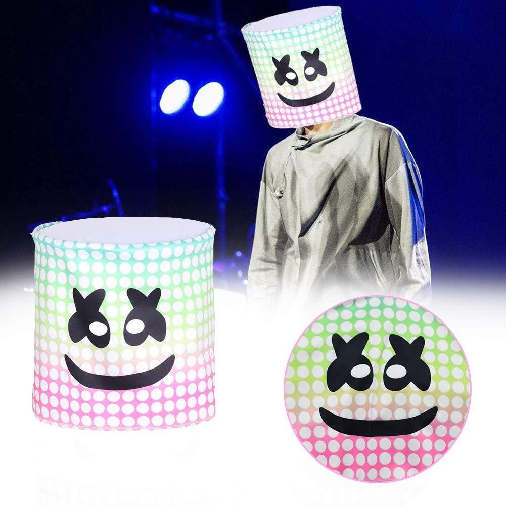 zhaokai Máscara de Marshmallow Máscara de Halloween Full Head ...