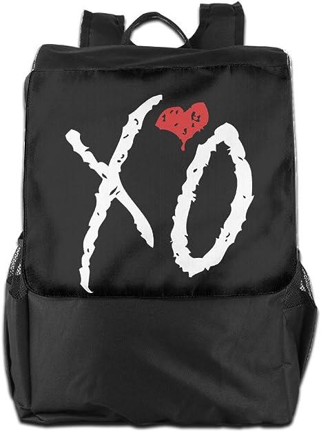 Mochila de viaje bolsa de poliéster el fin de semana XO Logo Kiss ...