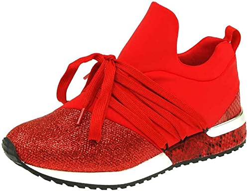 La Strada Damen Slipper Lycra red 966453 4030 rot 490842