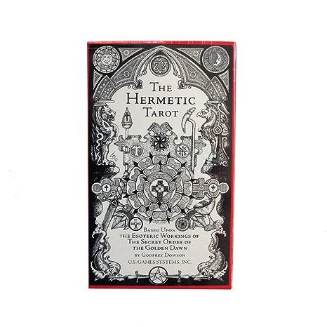 Baraja The Hermetic Tarot por Godfrey Dowson, Baraja de 78 ...