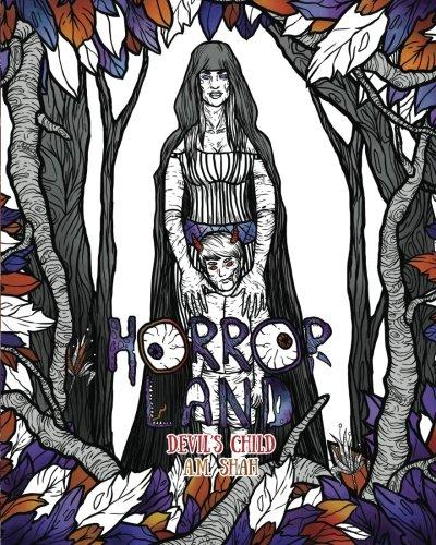 Adult Coloring Book Horror Land: Devil's Child (Book 7) (Volume 7)