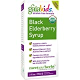 Gaia Herbs Kids Black Elderberry Syrup  Ounce
