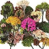 NWFashion 4 X 30G Dress Tree Flower Grass