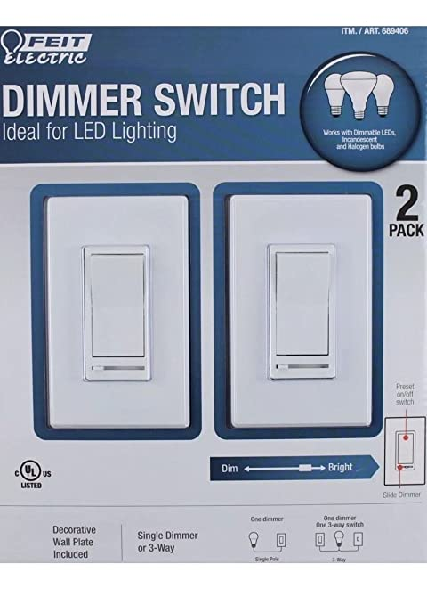 Feit electric dimmer switch (689406) on