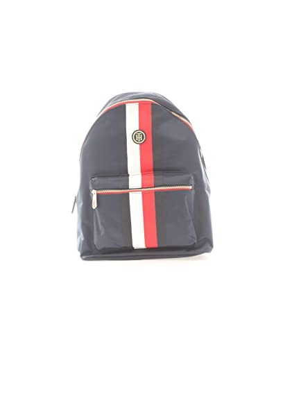 Tommy Hilfiger, POPPY BACKPACK CORPORATE AW0AW06861901, mochila azul marino para mujer: Amazon.es: Zapatos y complementos