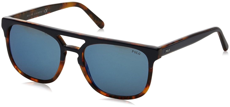 Ralph Lauren POLO 0PH4125 Gafas de Sol, Blue On Havana Jerry, 54 ...