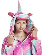 QQonsie Adult Onesies for Women Unicorn Pajamas Men Teen Girl Halloween Costumes