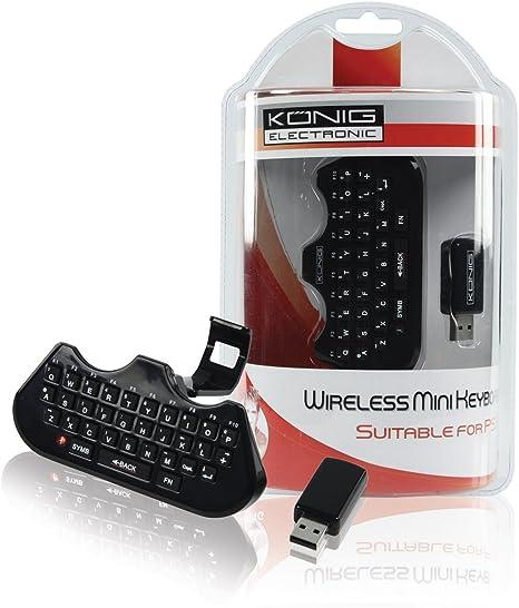 Mini teclado inalámbrico para PS3® König