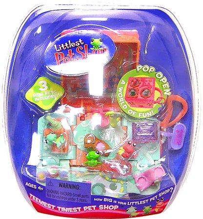 Hasbro Littlest Pet Shop Teeniest Tiniest Pet Shop - Reptiles