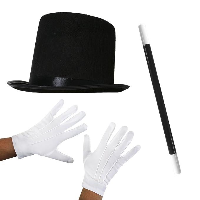 2 opinioni per Ilovefancydress- Set di accessori per costume da mago  composto da cappello nero 0e5dd6875249