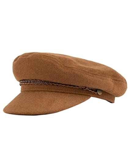 807d784dde9 Amazon.com  Brixton Men s Ashland Greek Fisherman Hat  Clothing