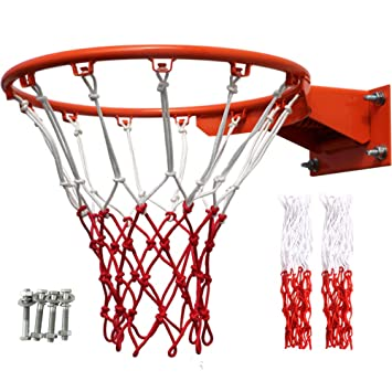 GOUDEDE Aro de Baloncesto Caja de Baloncesto al Aire Libre ...