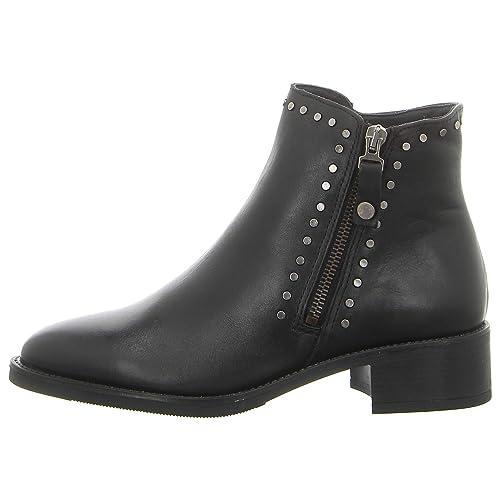 Amazon Piel Complementos 34992005 Negro Alpe Botin Zapatos De es Y qZExX6