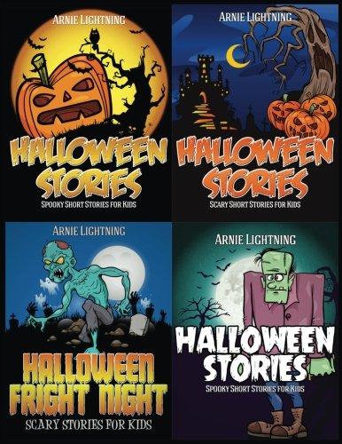 Halloween Stories (4 Books in 1): Spooky Stories, Funny Jokes, and Halloween Activities (Haunted Halloween Fun) (Volume 1) -