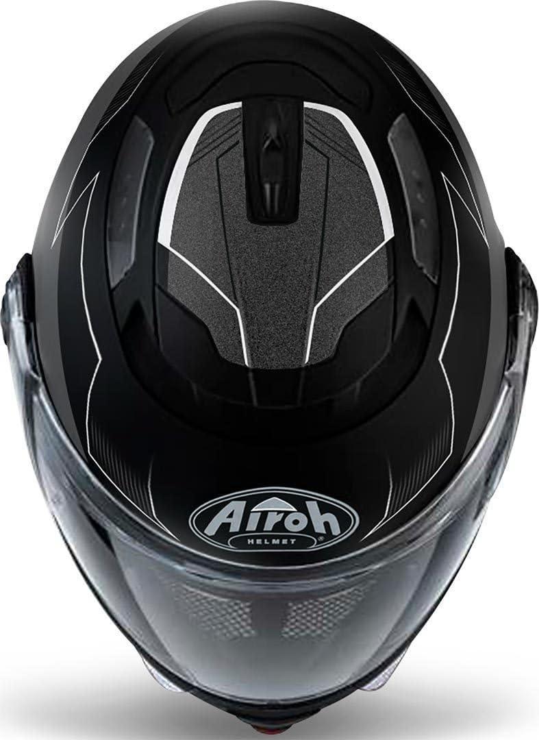 Airoh Modulare Helm Phantom / /Black//White XXL White Gloss /Spirit /