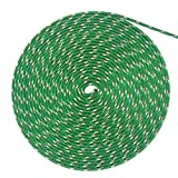 WindRider Ropes 1/4'' (6mm) Double Braid Line - Solid Green (50FT)