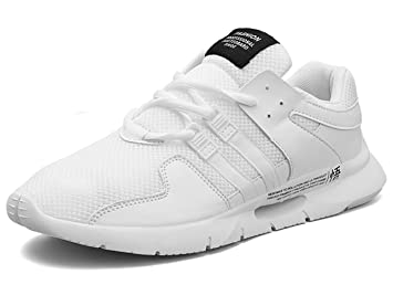 GJRRX Zapatillas Hombre Zapatillas Running Hombre Zapatillas Deportivas Hombre de Cordones en Gimnasio Zapatos Antideslizantes Transpirables 39-46: ...