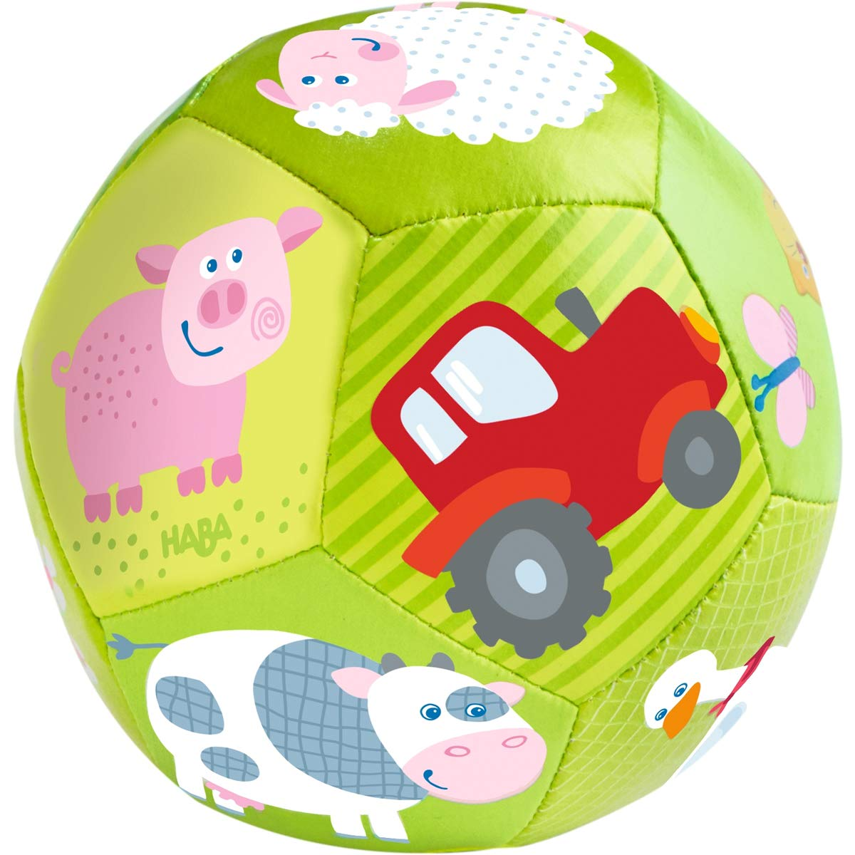HABA Baby Ball on The Farm 4.5 for Babies 6 Months and Up SG/_B01L0WHRWK/_US