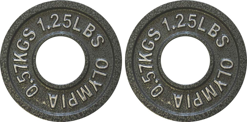 Ader Olympic Plate (Gray Hammertone Finished, 1.25 Lb)