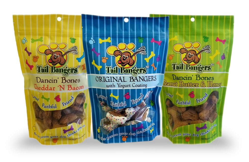 Tail Bangers Premium, All-Natural, Human Grade Dog Treats – No Preservatives, Corn Or Soy – Made in USA