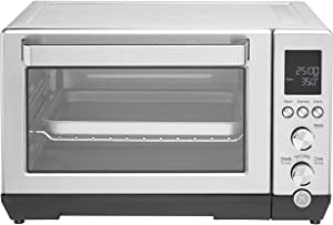 GE Quartz Convection Toaster Oven, Large Capacity Fits 9x13 Baking Pan, Rapid Quartz Heating Element, 7 Cook Modes of Toast, Bake, Broil, Bagel, Pizza, Roast & Keep Warm, Stainless Steel, G9OCABSSPSS